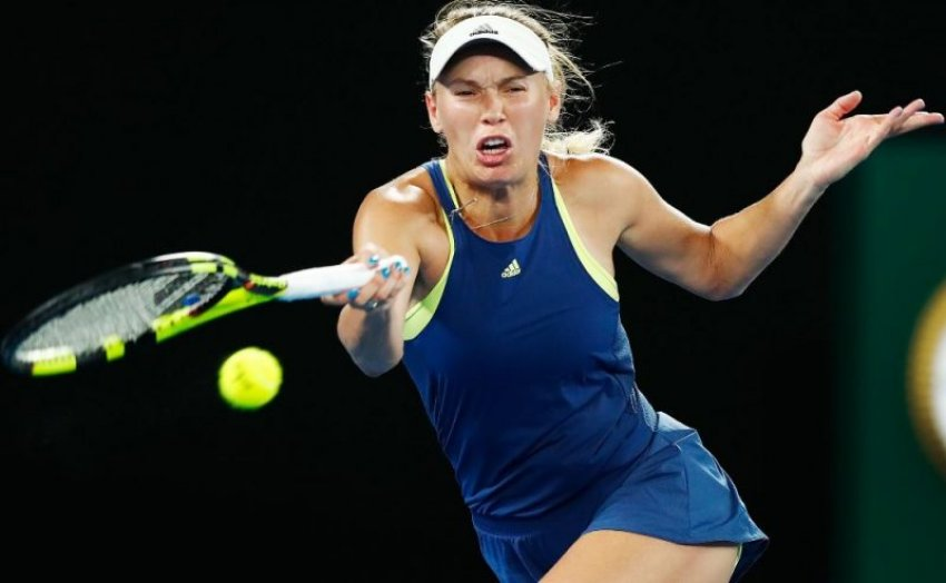 Tenistja daneze Wozniacki fiton grand slemin e Australian Open