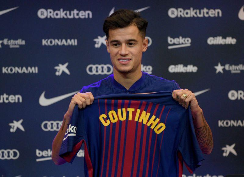 Philippe Coutinho është prezantuar si lojtarë i Barcelonës