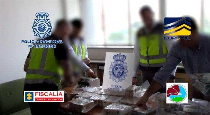 Kapet 1 ton kokainë dhe 1,55 mln euro,në pranga shqiptarët
