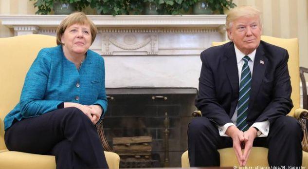 Trump-Merkel,takim i tensionuar .