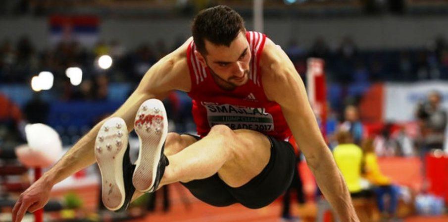 Izmir Smajlaj, kampion Europe në kërcim së gjati