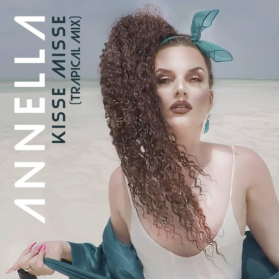 Këngëtarja shqiptare Annella vjen me këngën e radhës Kisse Misse (video)
