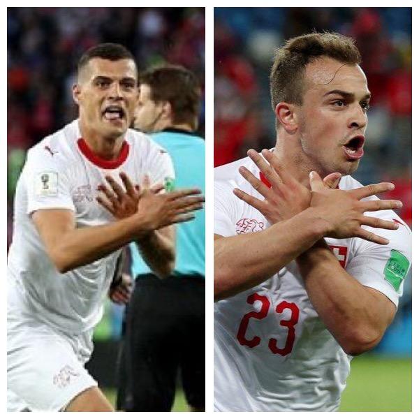 Shaqiri dhe Xhaka gjobiten me nga 10.000 franga,por nuk suspendohen nga FIFA
