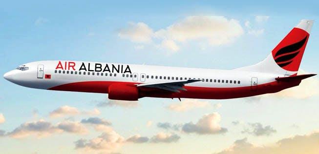 """Tiranë-Istanbull,fluturimi i parë i """"Air Albania"""""""