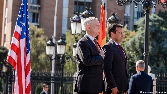 Maqedoni: Përkrahje e SHBA për referendumin