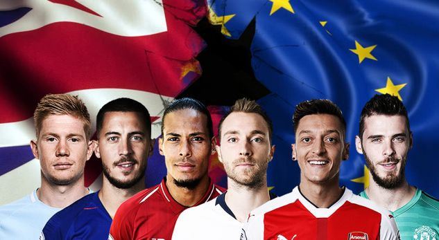 Tërmet në Premier Ligë: Brexit ndikon tek lojtarët e huaj