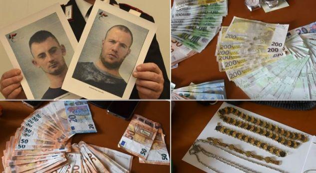 Policia në shtëpinë e shqiptarëve gjen bizhuteri nga vjedhjet në Itali