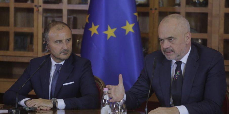 Brukseli jep rekomandimin e   hapjes së negociatave me Shqipërinë .