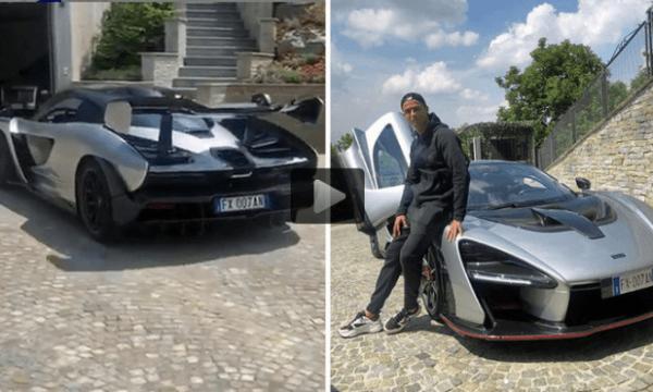 Ronaldo reklamon veturën një milion euro (video)