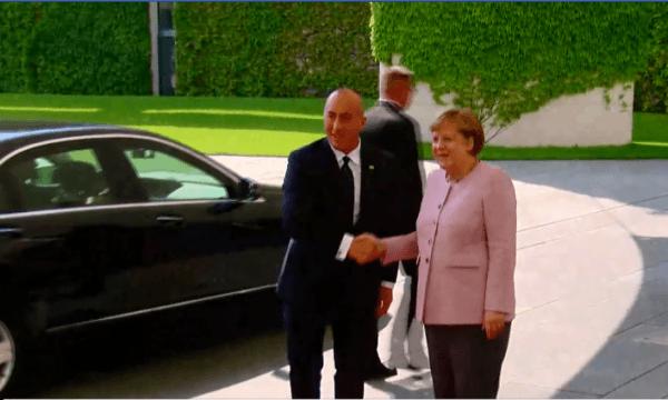 Nis takimi Haradinaj-Merkel