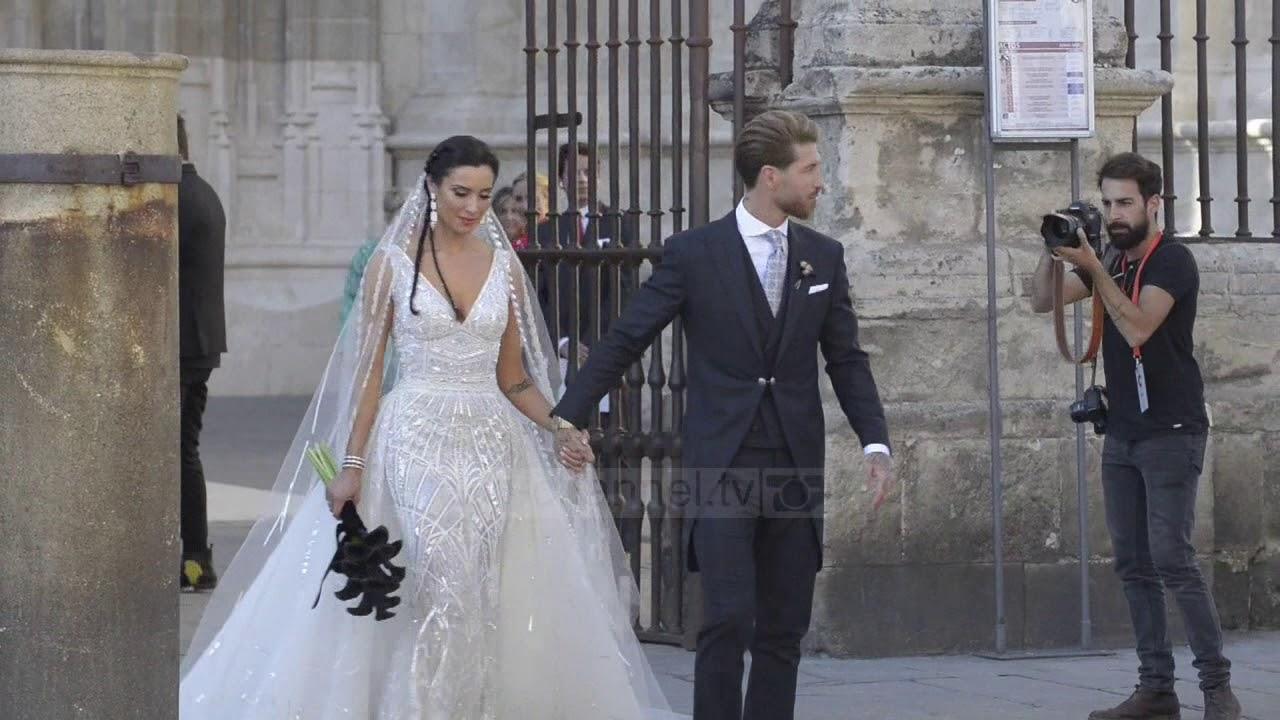 Ramos i jep fund beqarisë/Martesa e kapitenit të Realit me moderatoren Pilar Rubio