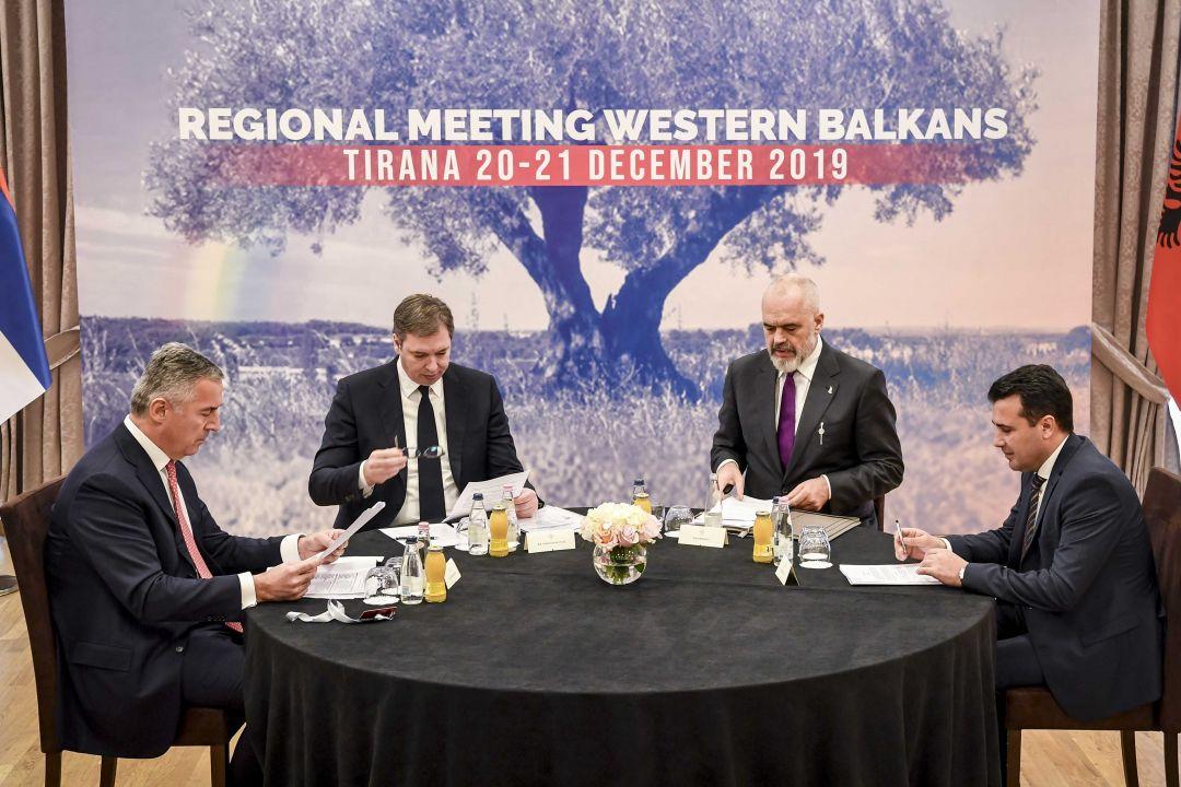 Përfundon Mini-Shengeni: Deklarata e plotë që u miratua në Tiranë nga Rama, Vuçiq, Gjukanoviq e Zaev