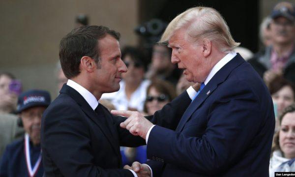 Trump thotë se komenti i Macronit ishte shumë i ulët