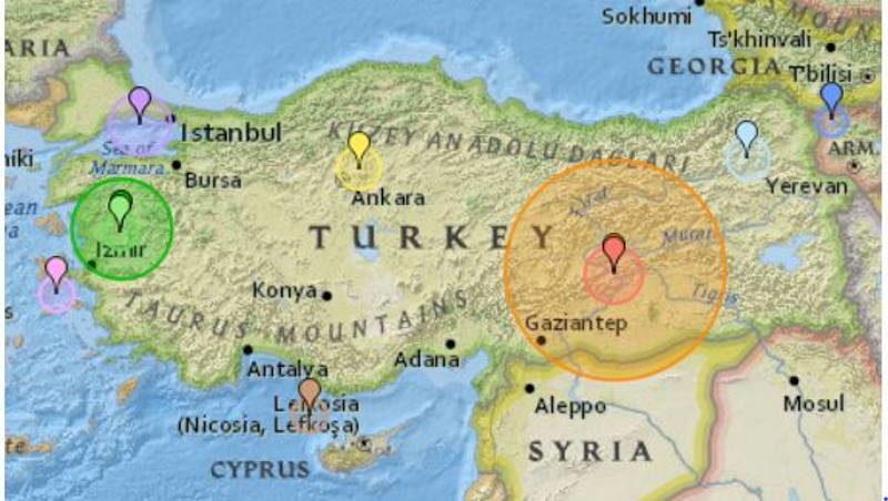 Tërmet 6,8 shkallë në Turqi 21 të vdekur dhe mijëra të plagosur