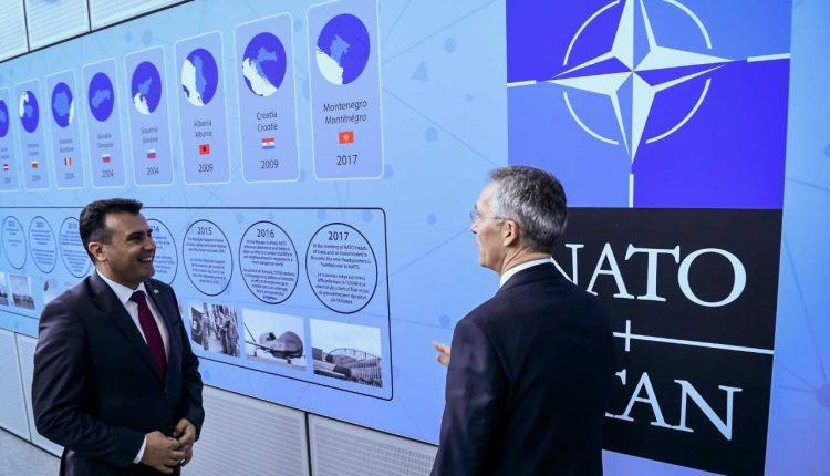 Zaev: Më në fund u bëmë pjesë e NATO-s