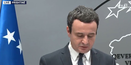 Kuvendi rrëzoi qeverinë e tij, reagon Kurti: Ishte porosia e ambasadorit Grenell
