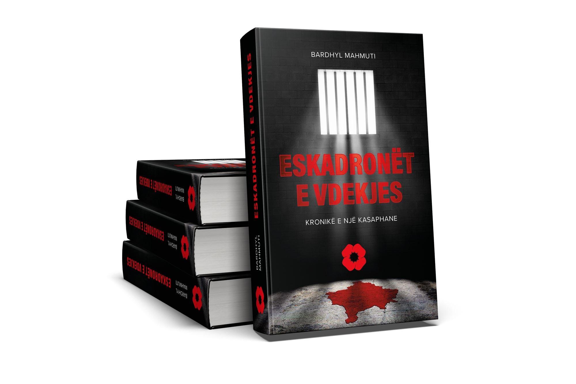 """Doli nga shtypi romani """"Eskadronët e vdekjes"""", i autorit Bardhyl Mahmuti"""