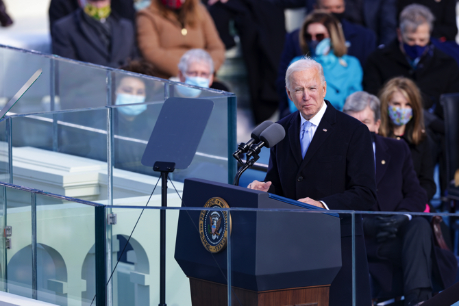 Biden zyrtarisht presidenti i 46-të i SHBA-ve