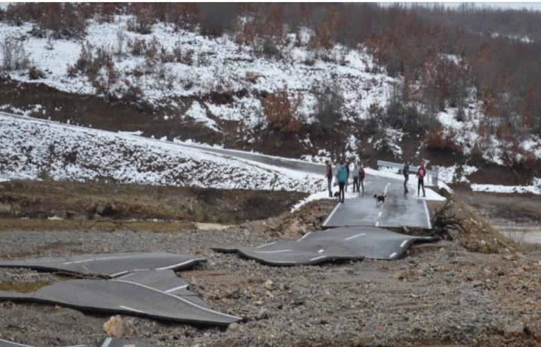 Kur hahet asfallti, rrugët e Kosovës pas vërshimeve