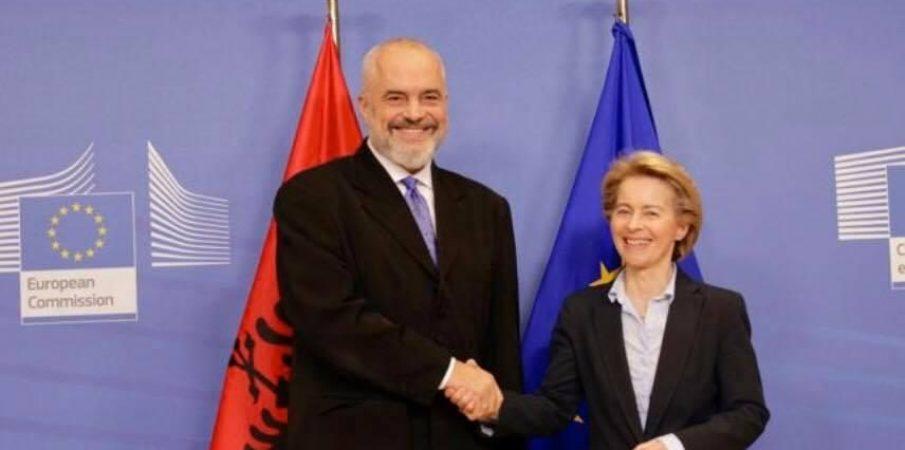 Rama në Bruksel më 1 Mars/ Do takohet me Borrell, Ursula Von Der Leyen dhe Verhelyi për çeljen e negociatave