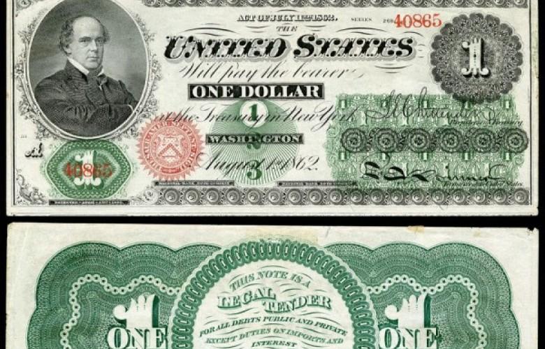 10 mars 1862 – SHBA LËSHOI PËR HERË TË PARË NË QARKULLIM DOLLARIN